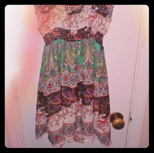 Poetry Dress BOHO Style